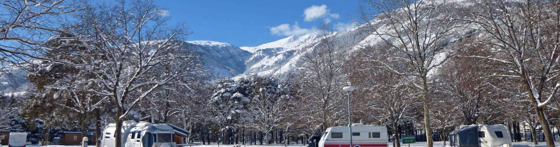 La vue est splendide sur les montagnes alentours… il n'y a plus qu'à skier !